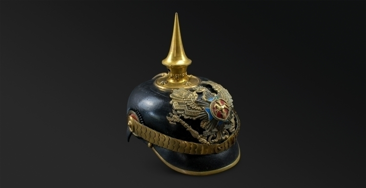 Reserved - IMPERIAL GERMAN OFFICER'S PICKELHAUBE OF THE 1ST AND 2ND BATALLIONS (BRUNSWICK) INFANTRY R