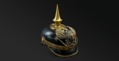IMPERIAL GERMAN OFFICER'S PICKELHAUBE OF THE 1ST AND 2ND BATALLIONS (BRUNSWICK) INFANTRY R