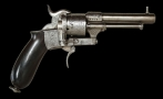 VERY RARE FRENCH 'REVOLVER - SYSTEM' DEMONTHIER IN 9MM LEFAUCHEUX