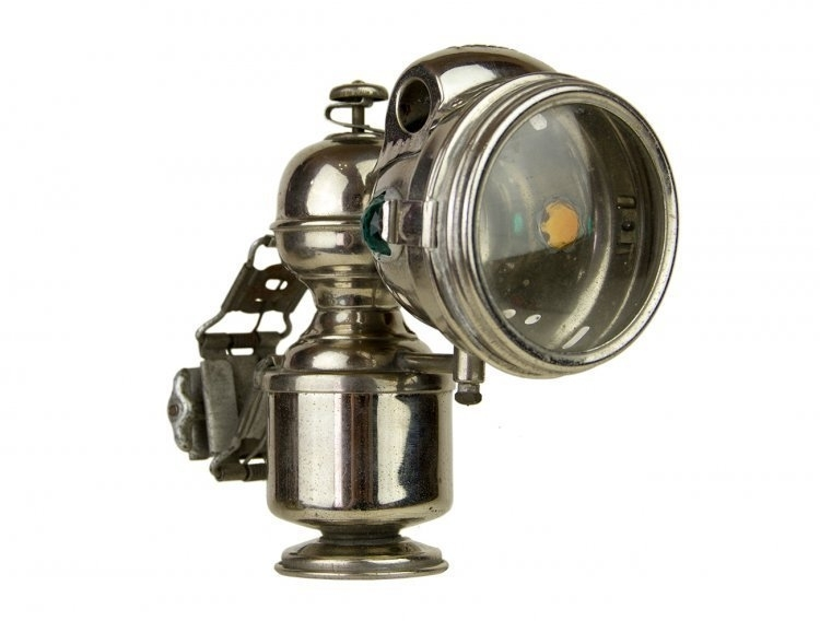 EARLY ACETYLENE BICYCLE LAMP - sold sold sold
