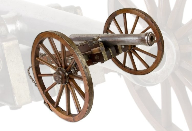 VERY FINE EARLY 19TH CENTURY MODEL FIELD GUN, LATE 19TH CENTURY