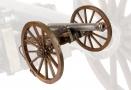 VERY FINE EARLY 19TH CENTURY MODEL FIELD GUN, LATE 19TH CENTURY