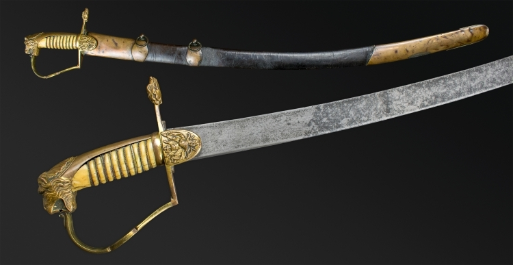 SUPERB EARLY 19TH CENTURY CAVALRY OFFICERS SABER BY GILL'S SOHO, LONDON