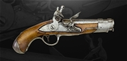 sold - French Pistol Maréchaussée Model 1770 - sold