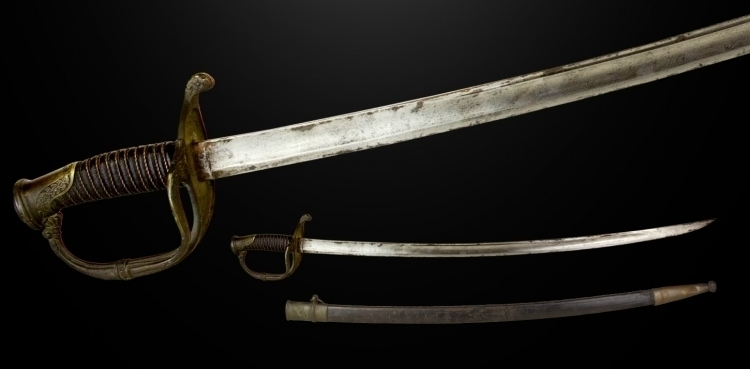 sold FRENCH 1821 PATTERN FRENCH OFFICERS SWORD CIRCA 1830 sold