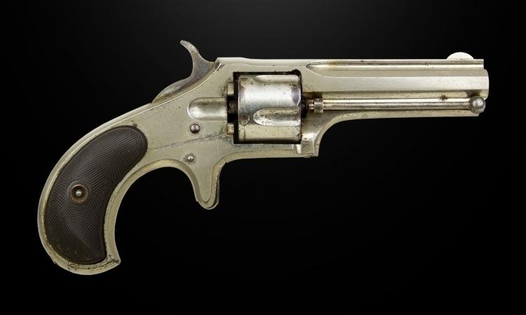 Reserved - FINE .32 RIM-FIRE, FIVE SHOT REMINGTON SMOOT REVOLVER