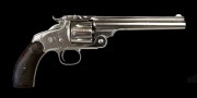 .32-44 (S&W) SIX-SHOT SINGLE-ACTION REVOLVER, MODEL 'NEW MODEL No3 TARGET
