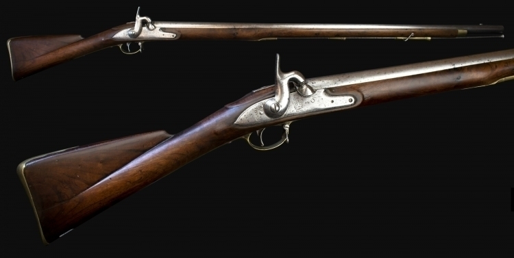 sold - INDIA PATTERN BROWN BESS MUSKET - sold