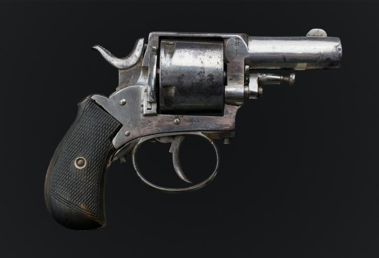 sold- 5 SHOT BULLDOG REVOLVER IN .442 WEBLEY  - sold