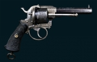 6 SHOT, 9MM LEFAUCHEUX SYSTEM REVOLVER OF QUALITY MANUFACTURE