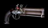 FINE AND HISTORIC OFFICERS PISTOL BY TATHAM AND EGG - 7TH HUSSARS
