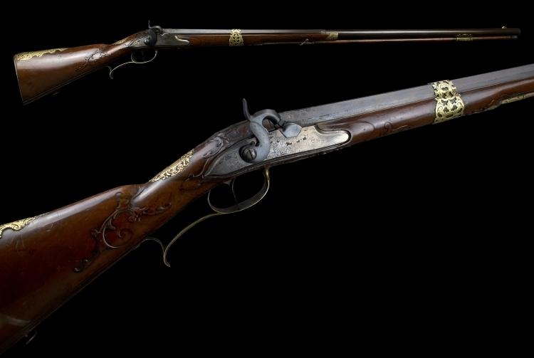 20 BORE VIENNESE SPORTING GUN SIGNED JOSEPH HEMERL IN WIEN CIRCA 1730