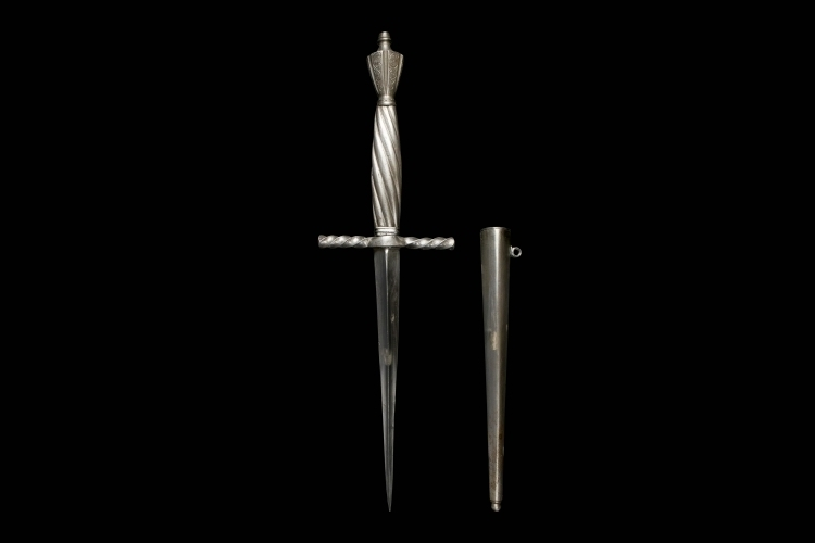19TH CENTURY CONTINENTAL DAGGER IN 16TH CENTURY STYLE