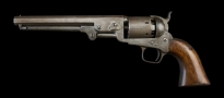 Sold - COLT .36, 6 SHOT 1851 LONDON NAVY REVOLVER