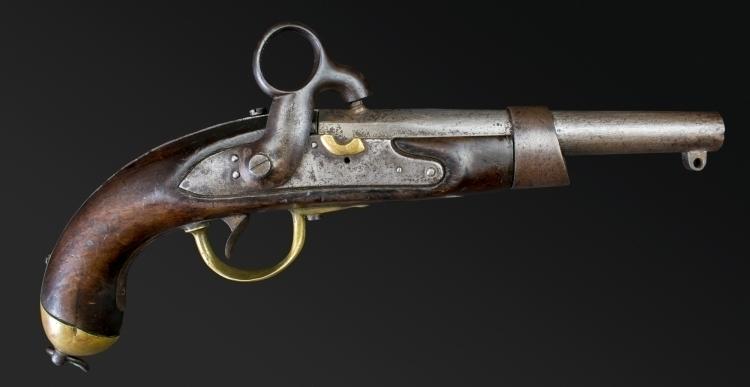 Sold - SCARCE DUTCH NAVAL PISTOL MLE 1818