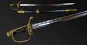FRENCH MODEL 1837 PATTERN NAVAL OFFICERS SWORD