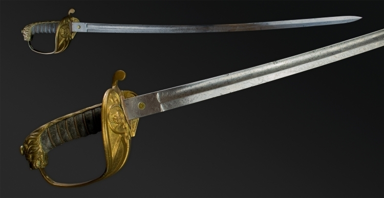 BRITISH 1927 PATTERN NAVAL OFFICERS SWORD AND SCABBARD