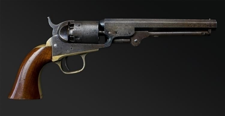 Sold - VERY GOOD COLT MODEL 1849 POCKET REVOLVER, CIRCA 1863