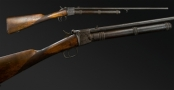 sold - RARE 8MM CARBONIC GIFFARD RIFLE FOR RESTORATION - sold