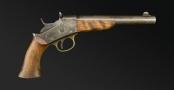REMINGTON MODEL 1871 ARMY ROLLING BLOCK PISTOL .50CAL