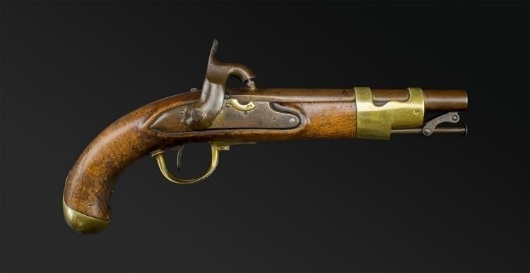 Sold - RARE DUTCH MODEL 1820 ARMY PISTOL
