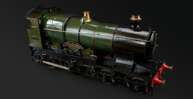 INCREDIBLE 5 INCH GAUGE LIVE STEAM LOCO - GREAT WESTERN 3710 TYPE 210