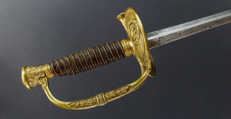 ORIGINAL FRENCH OFFICERS EPEE MODEL 1817, CIRCA 1820