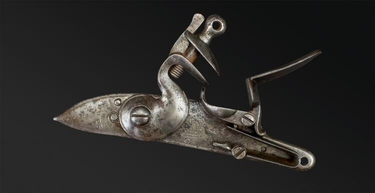 REGULATION LOCK FOR A INDIA PATTERN BROWN BESS MUSKET
