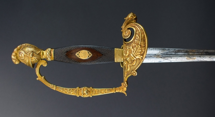 ORIGINAL FRENCH OFFICERS EPEE / SWORD - FIRST EMPIRE