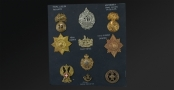 Sold - COLLECTION OF 19TH AND 20TH CENTURY MILITARY INSIGNIA