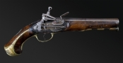 SPANISH MIQUELET OFFICERS PISTOL MID 18TH CENTURY