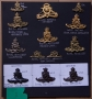 COLLECTION OF ROYAL ARTILLERY CAP BADGES - reserved