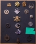 COLLECTION OF MILITARY CAP BADGES - reserved