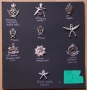 COLLECTION OF MILITARY CAP BADGES,  GURKAS - reserved