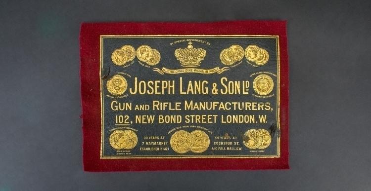 JOSEPH LANG & SONS LTD