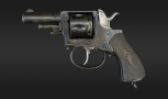 .320 FRENCH SIX SHOT CENTRE-FIRE REVOLVER