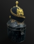 reserved - FINE ARMY MEDICAL CORPS HOME SERVICE HELMET, PHILLIPS 4 DAME ST, DUBLIN - reserved