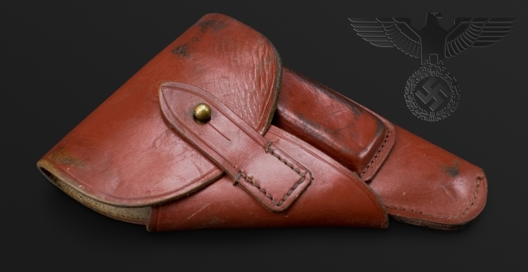 WALTHER PPK NAZI PARTY HEADERS LEATHER HOLSTER