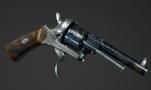 FINE 7MM LEFAUCHEUX 6 SHOT REVOLVER BY VICTOR COLETTE, LIEGE
