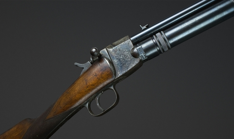 Sold - RARE GIFFARD 8MM RIFLE : MODEL ESPECIALLY FOR HUNTING