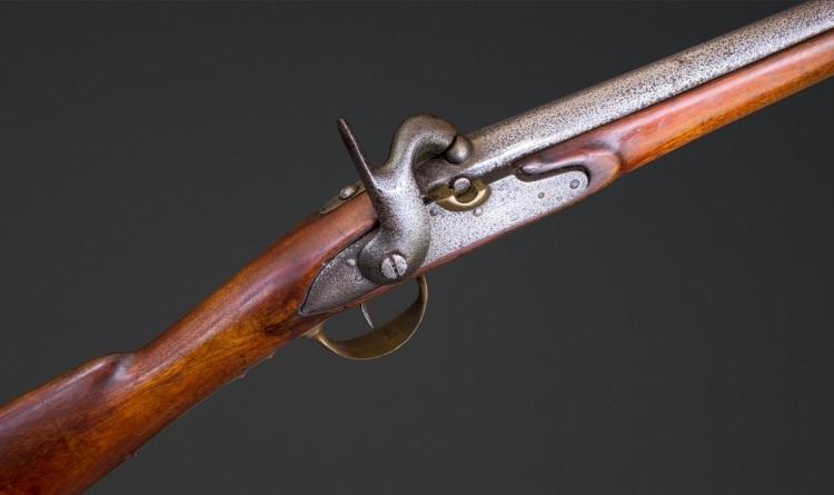 RUSSIAN MODEL 1844 PATTERN MUSKETT, DATED 1843
