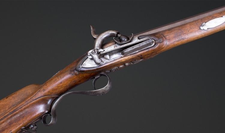 Sold - MIQUELET LOCK SPORTING GUN MID 18TH CENTURY