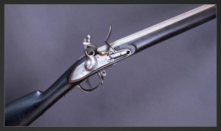 Sold - SARGANT & SON, BIRMINGHAM, FLINTLOCK MUSKET OF FRENCH MODEL 1777 STYLE
