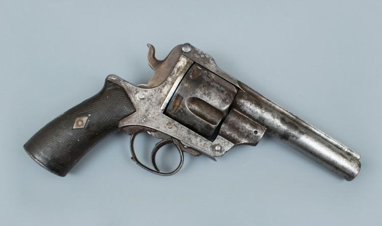 RARE KRUPP .577 FIVE SHOT REVOLVER FOR RESTORATION