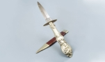 19TH CENTURY DAGGER SIGNED ROBERT LINGARD SHEFFIELD