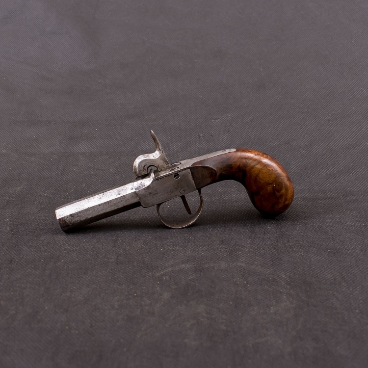19TH CENTURY PERCUSSION POCKET PISTOL