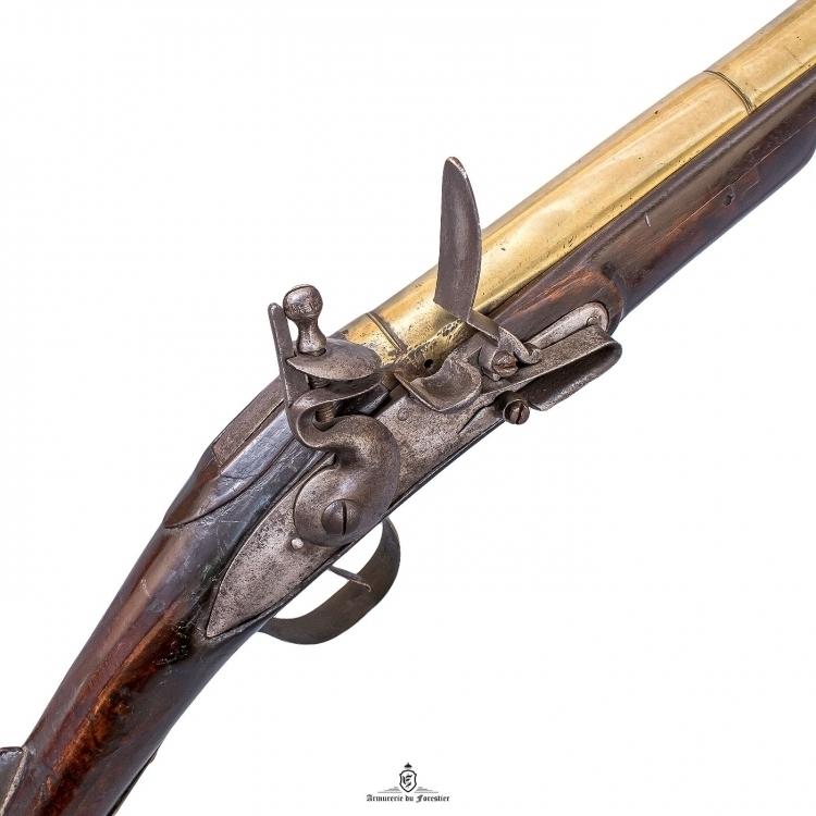 Sold - BRASS BARRELED FLINTLOCK BLUNDERBUSS, CIRCA 1800