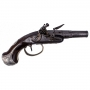 SUPERB AND HIGH QUALITY SILVER MOUNTED PISTOL BY PERION A PARIS WITH LINKS TO RUSSIAN NOBILITY