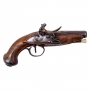 A VERY GOOD FRENCH TRAVELLING PISTOL, LATTER HALF OF THE 18TH CENTURY