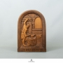 A COLLECTION OF FRENCH OAK carvings BY JEAN-CLAUDE LARDEUX & OTHERS